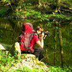 Fotografka v akci